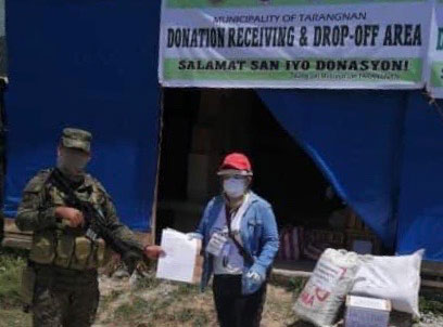 EDC extends assistance to most COVID-19 affected municipality in Samar