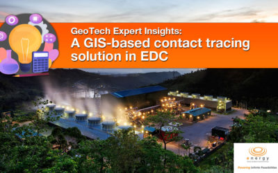 A GIS-based contact tracing solution in EDC
