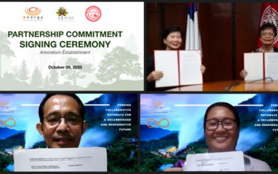 EDC partners anew with Silliman University to rescue endangered trees